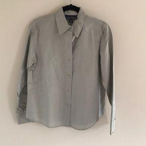 Ellen Tracy Womens button down shirt
